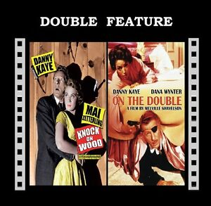 On The Double / Knock On Wood ( Danny Kaye ) Region 2 compatible DVD