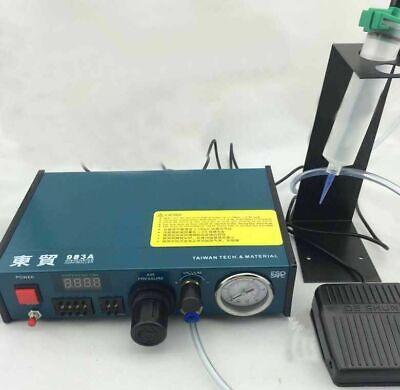 Auto Glue Dispenser Solder Paste Glue Dropper Liquid Dispensing Controller 220v