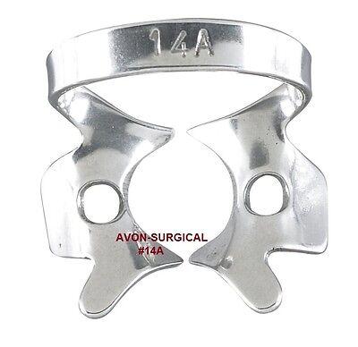 3 Endodontic Rubber Dam Clamps 14a Dental Instruments Premium Grade