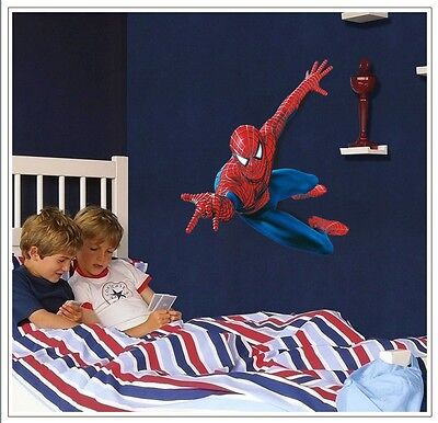 US STOCK!!! Removable 3D The Avengers Scroll Wall Sticker De