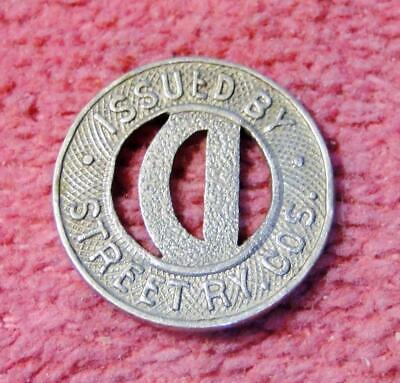 The Gordon Transit Lines Pittsburg, Kansas KS820D transit token