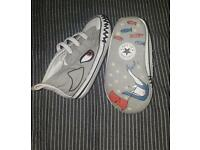 converse baby shoes size 2