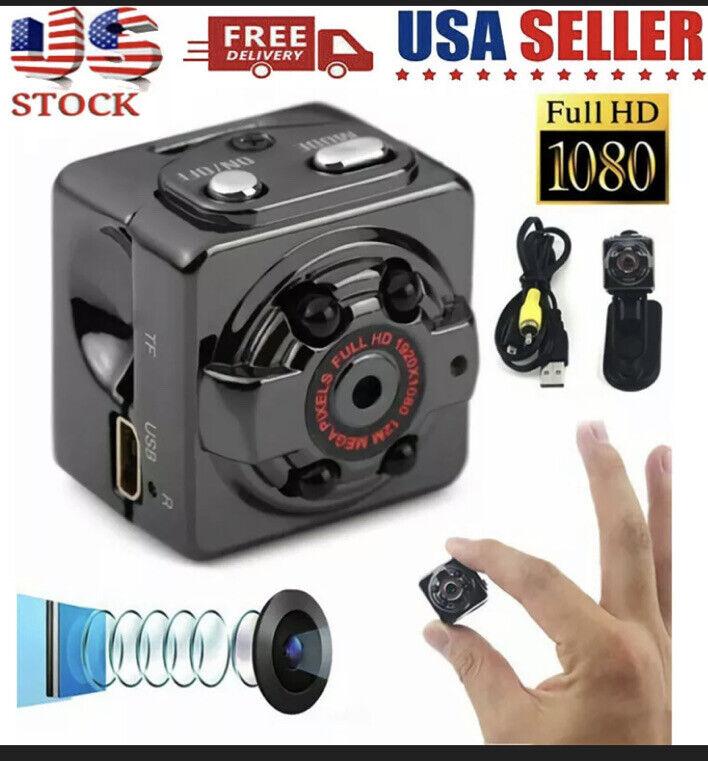 Mini 1080P HD Night Vision SQ8 Video Camera Sensor Body Motion DVR Micro Camera