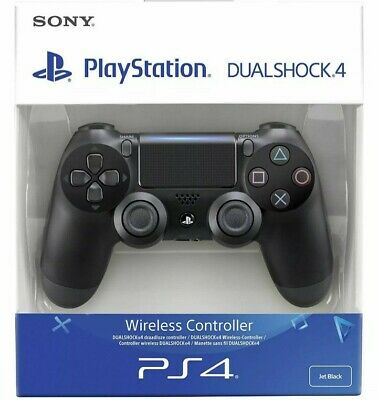 Sony NEW Dualshock 4 Controller (Black) (PS4) V2 Brand New & Sealed UK Seller