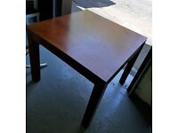 Solid Mahogany Extending Dinning Table £20