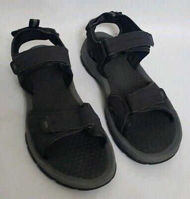 Khombu Mens Sandals Size UK 11 Black
