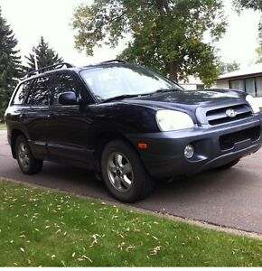 2005 Hyundai Sante Fe (BLOWN ENGINE)