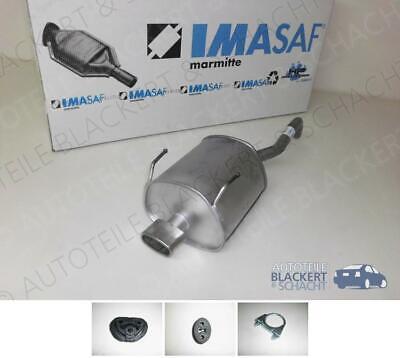 IMASAF ESD Auspuff Endtopf + Anbauteile für Ford Ka II 1.2 Sportoptik 2009-2013