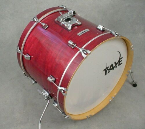 "TAYE TOUR PRO 20"" CHERRY LACQUER BASS DRUM"