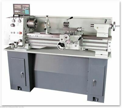 Eisen 1236gh Bench Lathe With Dro5c Collet Stand Made In Taiwan 1-phase 220v