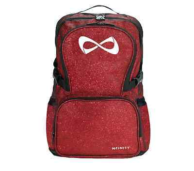 Nfinity Sparkle Backpack Cheer Gym Bag Red