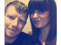 Young couple seek double room or studio flat