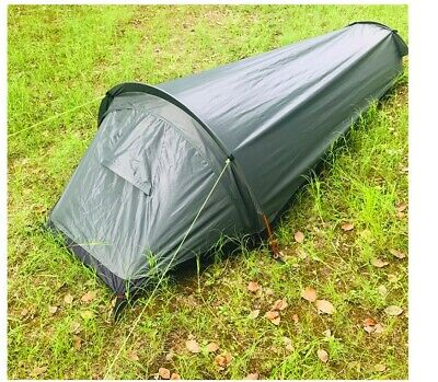 Small Lightweight 1 One Man Person Camo Army Military Hiking Bivy Sack Camp Tent