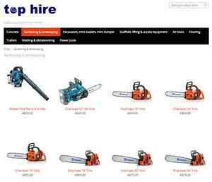 Gardening tools hire Campbelltown Campbelltown Area Preview