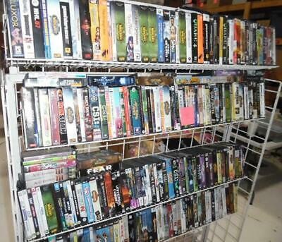 Lot of ~223 PC CD DVD Computer games Complete Wholesale Resale lot