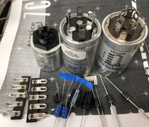 Power Supply + Audio Electrolytic Capacitor Refurb Kit -Marantz 7 7C Tube Preamp