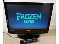 "Tecknika 22"" LCD HD with INBUILT DVD"