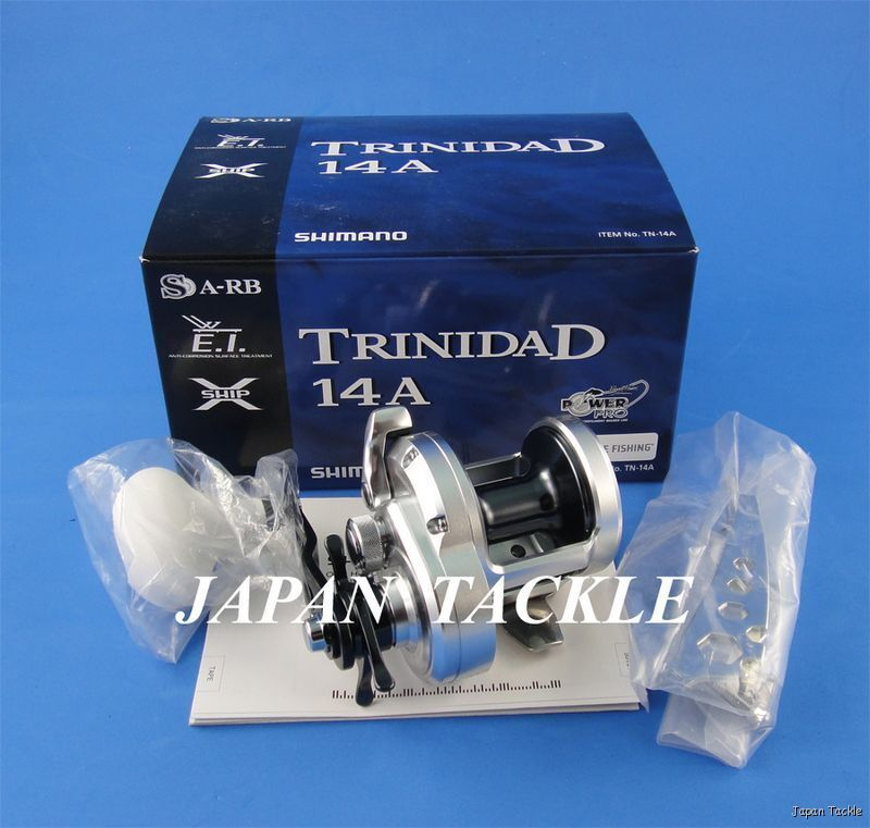 In Box Shimano Trinidad 14 A Saltwater Fishing Reel 2-3 Days Delivery