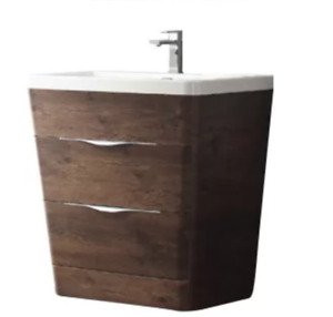 Brand new 32 inch bathroom vanity - sink, taps, mirror included!
