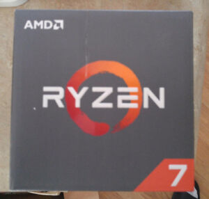 AMD Ryzen 7 1700 - Brand new Sealed in Box with AMD Cooler
