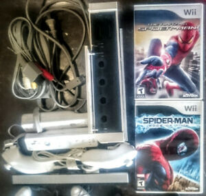 Backwards Compatible Wii w/Hook-ups, and 3 Games TESTED!
