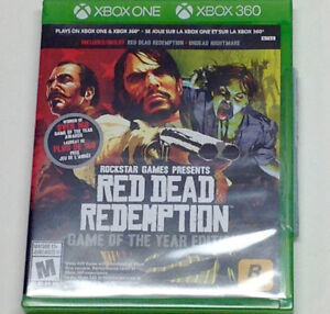 Xbox One Red Dead Redemption GOTY edition