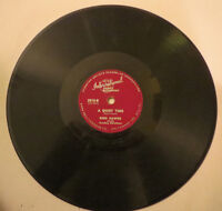 RED HARPER 78 rpm EACH STEP OF THE WAY /A QUIET TIME