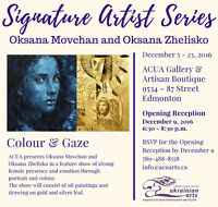 Oksana Movchan and Oksana Zhelisko: Colour and Gaze