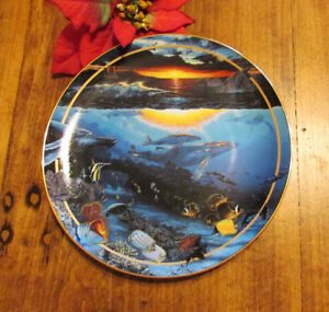 "1996 ""Diamond Head Dawn"" by Lassen, Collector's Plate #3 Kitchener / Waterloo Kitchener Area image 1"