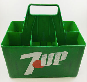 Crate 7UP, Vintage, Plastique resistant, USAGÉ