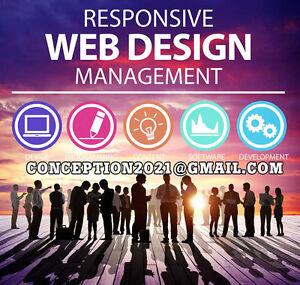 CONCEPTION DE SITE WEB CONVIVIAL WORDPRESS PROFESSIONNEL
