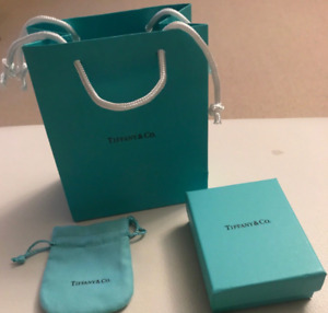 NEW TIFFANY & CO ORIGINAL PACKAGING - GIFT BAG, BOX, POUCH CLOTH