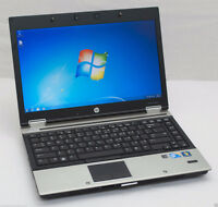 HP ELITE BOOK 8440p, INTEL CORE i5 M540 2.53GHz   RAM 4GB,  HDD