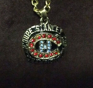 Montreal Canadians Stanley Cup Ring and Chain!