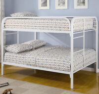 CLEARANCE! Full Over Full Bunk Bed