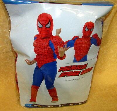 VESTITO CARNEVALE PREMIUM SPIDERMAN UOMO RAGNO HERO  11-14 anni  - Premium Spiderman Costume
