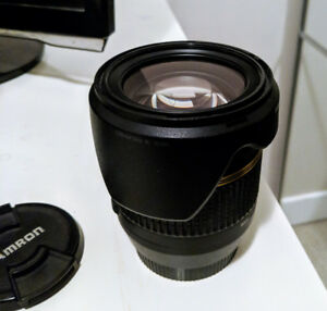 Tamron 17-50mm F2.8 with image stabilization for Canon zoom lens