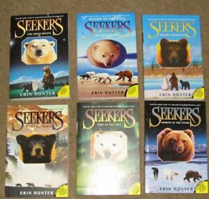 The Seekers Book Collection #1-#6 by Erin Hunter