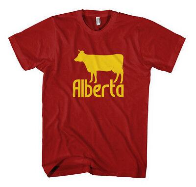 ALBERTA CANADA Unisex Adult T-Shirt Tee Top  Canada Unisex T-shirt