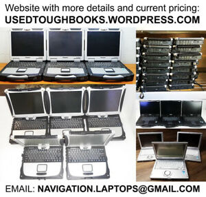 RUGGED RELIABLE Panasonic Toughbook waterproof laptop computers
