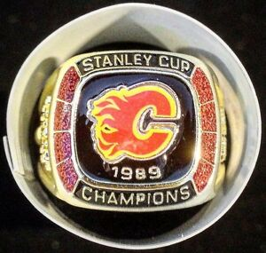Molson Canadian Calgary Flames Stanley Cup Ring
