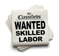 General labours and Skilled tradesman needed!