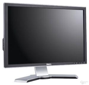 "DELL 22"" FLAT SCREEN LCD MONITOR DVI VGA  MODEL NO. 2208WFPT"
