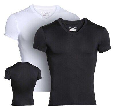 - Under Armour 1216010 UA Tactical Tee HeatGear Compression V-Neck T-Shirt