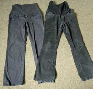 Maternity pants and cords - medium - $10 for both