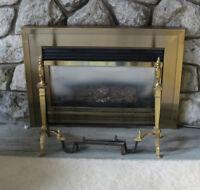 Vintage Fireplace dogs
