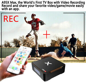 FIRST Android TV Box with 120GB SSD and RECORDING FEATURE