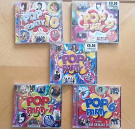Pop Party Music CD/DVD
