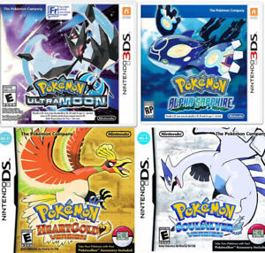 Looking for pokemon games