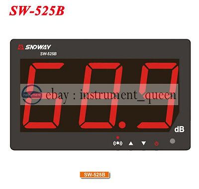 Sndway Sw-525b Digital Sound Level Meter 30130db Screen Display Noise Meter